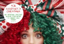 Sia_Everyday_Is_Christmas_Album_Cover